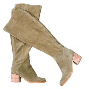 "Marc Fisher ""Escape"" Over The Knee Boots Suede WC"